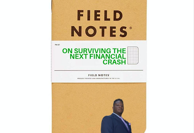 Field notes on surviving the next financial crash