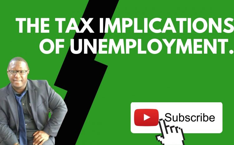 The Tax Implications of Unemployment. ✏️